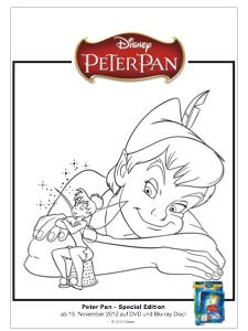 Peter Pan Basteln Kochen Und Malen Pooh B Log Designblog