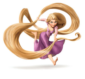 Warum hat rapunzel lange haare