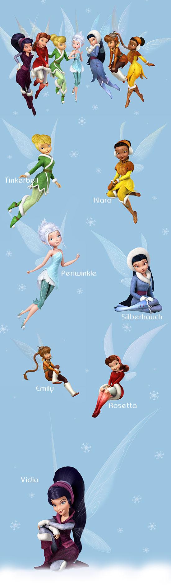 Ausmalbilder Tinkerbell Silberhauch : Disney Tinkerbell Pooh B Log Designblog